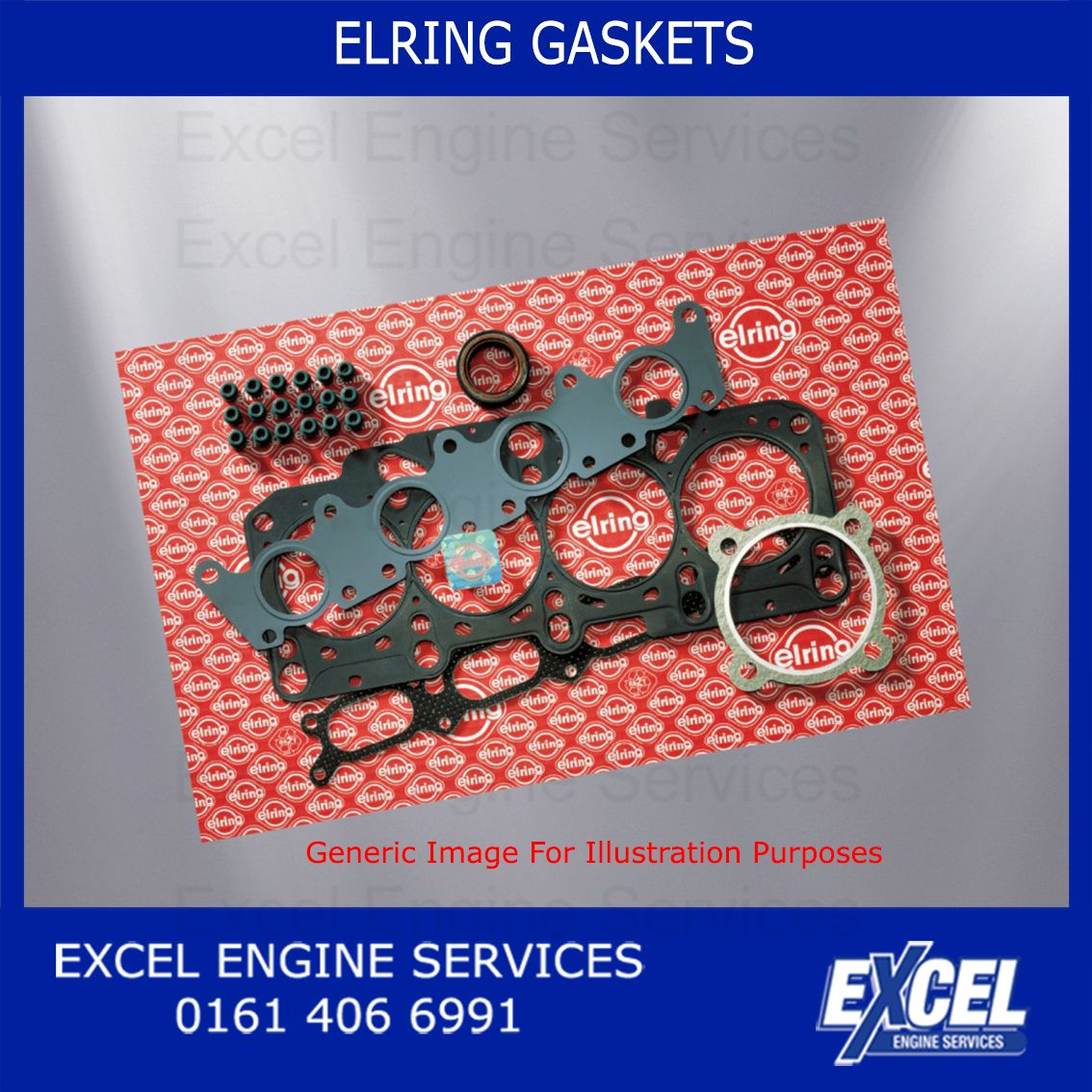 Timing Cover Gasket Vauxhall 809400 Belt